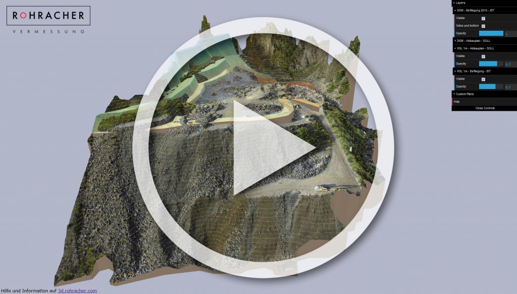 3D Viewer UAV / Luftbermessung